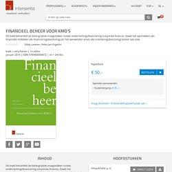 Financieel beheer voor KMO's.