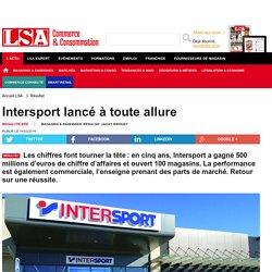 Intersport lancé à toute allure - Sport, Articles sportifs