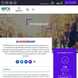 Enseigne Intersport: Enseigne de la SA coopérative Intersport France