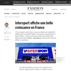 Intersport affiche une belle croissance en France - Actualité : distribution (#668244)