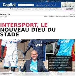 Intersport, le nouveau dieu du stade