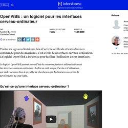 OpenViBE : un logiciel pour les interfaces cerveau-ordinateur