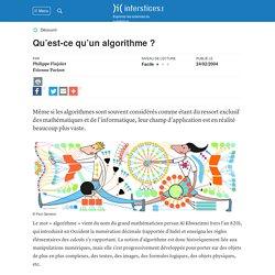 Qu'est-ce qu'un algorithme ?