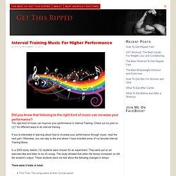 Interval Training Music