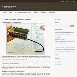 DIY intervalometer based on Arduino « Rastroludico