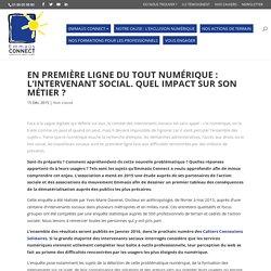 L'intervenant social face au numérique