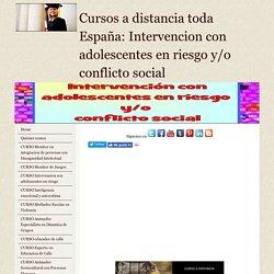 Curso Intervencion con adolescentes en riesgo y conflicto social
