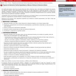 Bizkaia.Eus: - Programa de Intervención Familiar Especializado en Menores Víctimas de Violencia de Género