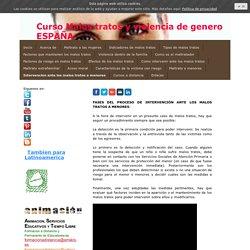 Intervencion ante los malos tratos a menores - Formacion a distancia toda España y Latinoamerica