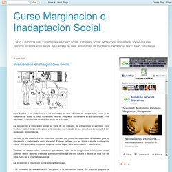 Intervencion en marginacion social