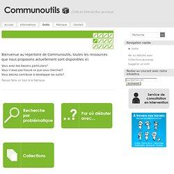 Ressources et Outils en Intervention Jeunesse - Communoutils