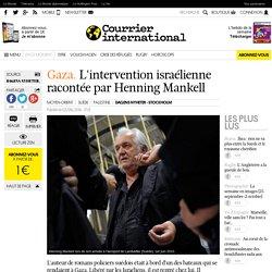 Mankell/Gaza