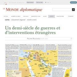 Un demi-siècle de guerres et d'interventions étrangères, par Philippe Rekacewicz (Le Monde diplomatique, mars 2003)