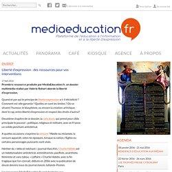Liberté d'expression : des ressources pour vos interventions - mediaeducation.fr