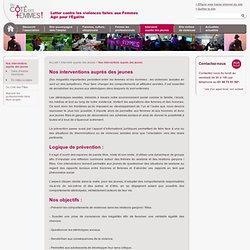 Interventions en milieu scolaire - Du Côté Des Femmes - Du Côté Des Femmes