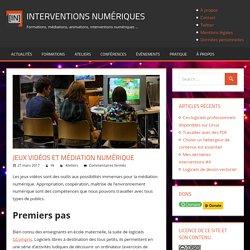 Jeux vidéos et médiation numérique - Interventions Numériques