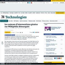 Les auteurs d'interventions pirates sur Wikipédia démasqués