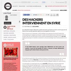 Bachar Al-Assad doublé par des hackers