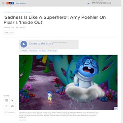 Interview: Actress Amy Poehler And Director Pete Docter On 'Inside Out'