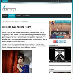 Interview Adeline Fleury - Lecthot