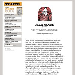 Interview with Alan Moore
