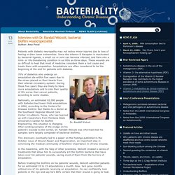 Interview with Dr. Randall Wolcott, bacterial biofilm wound specialist
