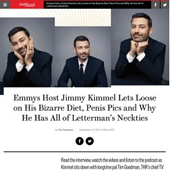 Jimmy Kimmel Interview: Early Career Tales, Emmy Campaigning, & More