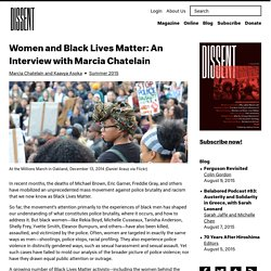 Women and Black Lives Matter: Marcia Chatelain