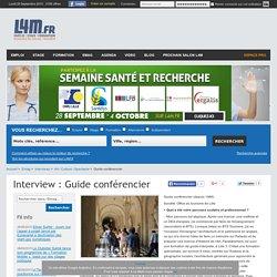 Interview Guide conférencier Art / Culture / Spectacle, offres d'emploi Nord Pas-de-Calais