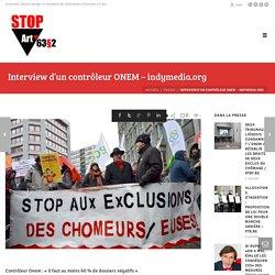Interview d'un contrôleur ONEM - indymedia.org - Stop Art. 63§2