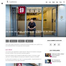 Interview du créateur de Mr Zhao et de la Taverne de Zhao