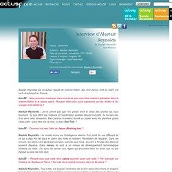 Interview de Alaistair Reynolds - actusf.com