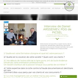 Interview de Daniel ARSSENIEV, PDG de PICSEL