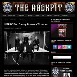 INTERVIEW: Danny Bowes – Thunder