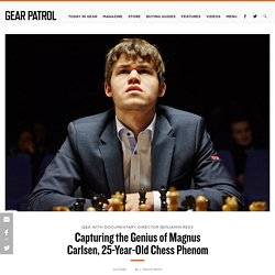 """Interview: Director of Chess Documentary """"Magnus"""""""