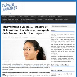 Interview d'Elsa Marpeau
