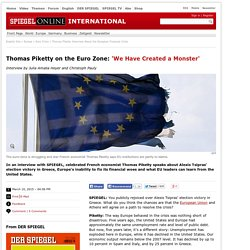 Thomas Piketty Interview About the European Financial Crisis