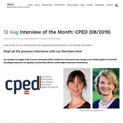 European Platform of Women Scientists EPWS