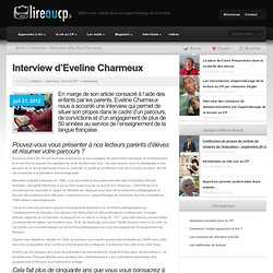 Interview d'Eveline Charmeux