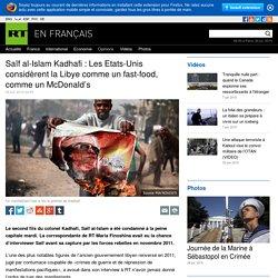 Interview exclusive de Saïf Kadhafi