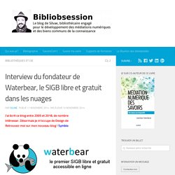 Interview du fondateur de Waterbear