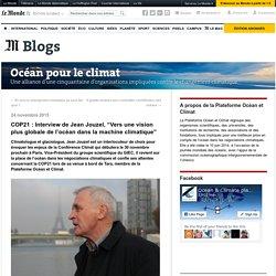 """24/11/15 Jean Jouzel, """"Vers une vision plus globale de l'océan dans la machine climatique"""""""