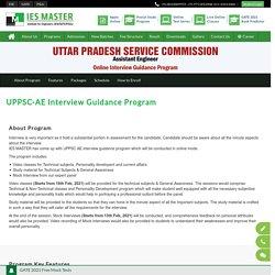 Interview Guidance Program for UPPSC-AE