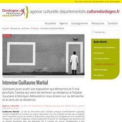 Interview Guillaume Martial