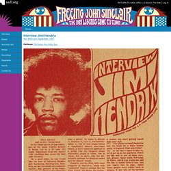 Interview Jimi Hendrix
