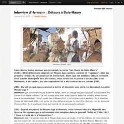 Interview d'Hermann : Détours à Bois-Maury