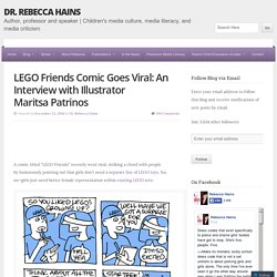 LEGO Friends Comic Goes Viral: An Interview with Illustrator Maritsa Patrinos