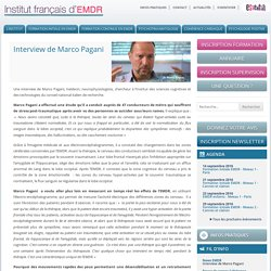 Interview de Marco Pagani - IFEMDR