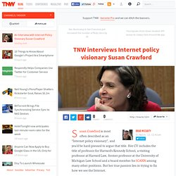 An Interview with Internet Policy Visionary Susan Crawford