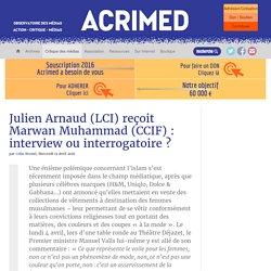 Julien Arnaud (LCI) reçoit Marwan Muhammad (CCIF) : interview ou interrogatoire
